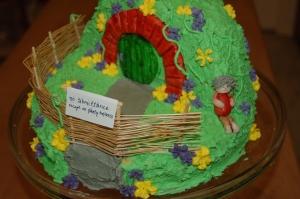 hobbit hole cake sm