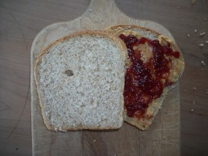 Peanut butter and Jam--mood enhancing drugs.