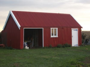 "My ""new"" 125 year-old garden shed."